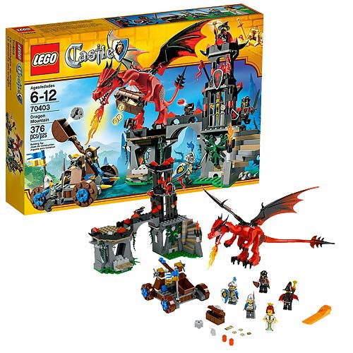 LEGO Castle 70403 Dragon Mountain