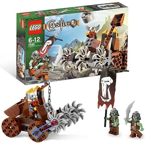 LEGO 7040 Castle Dwarves' Mine Defender