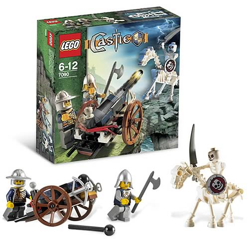 LEGO 7090 Castle Crossbow Attack