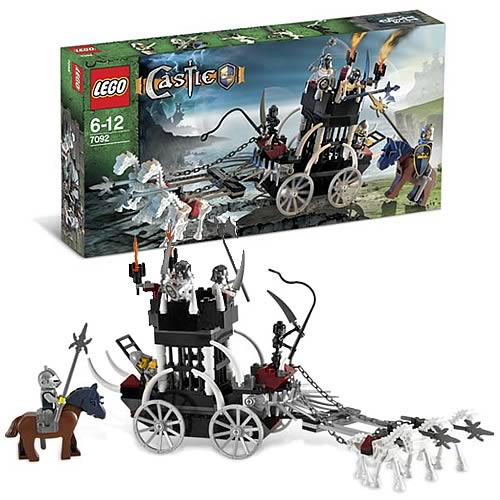 LEGO 7092 Castle Skeleton Prison Carriage