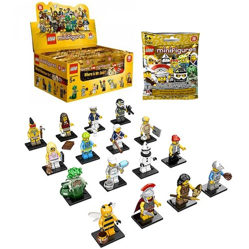 LEGO 71001 LEGO Minifigures Series 10 Display Box 60 Figures