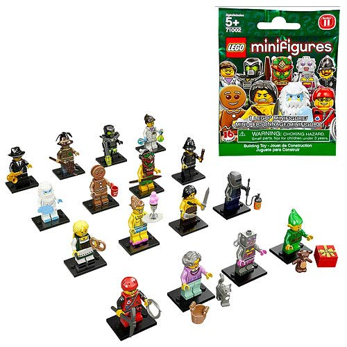 LEGO 71002 LEGO Minifigures Series 11 Display Box 60 Figures