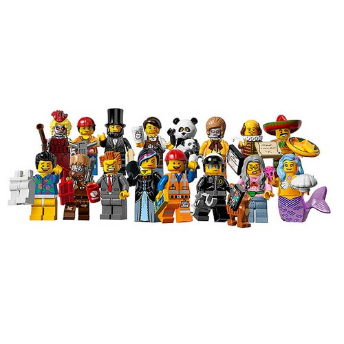 LEGO 6059278 Minifigures Series 12 Display Box 60 Figures