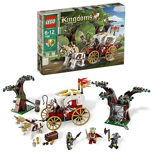 LEGO Kingdoms 7188 King's Carriage Ambush Case