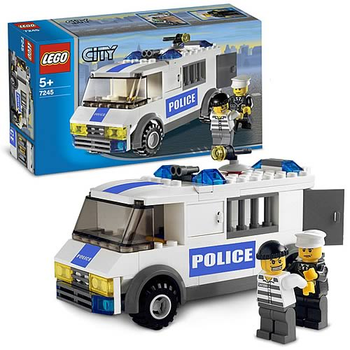 LEGO 7245 City Prisoner Transport