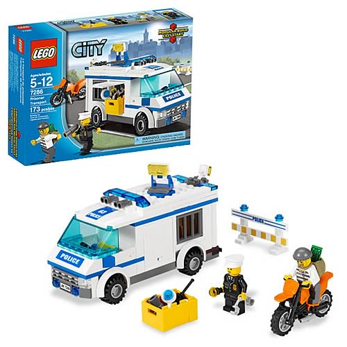 LEGO City 7286 Prisoner Transport Case