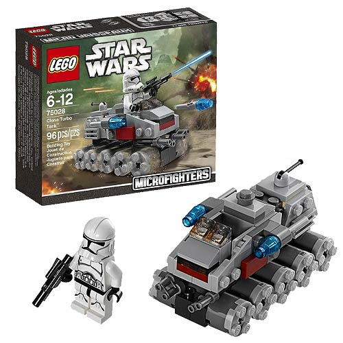 LEGO Star Wars Microfighters 75028 Clone Turbo Tank