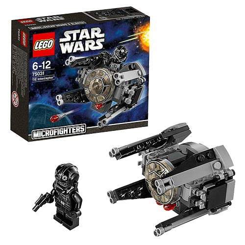 LEGO Star Wars Microfighters 75031 TIE Interceptor