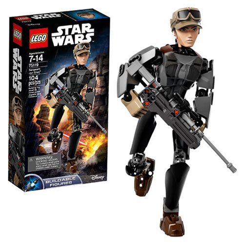 LEGO Star Wars RO 75119 Constraction Sergeant Jyn Erso