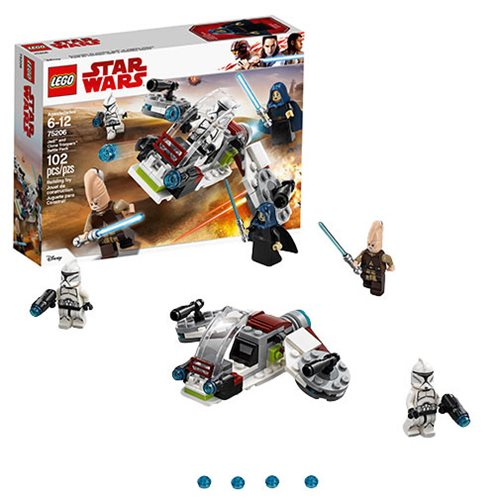 LEGO Star Wars 75206 Jedi and Clone Troopers