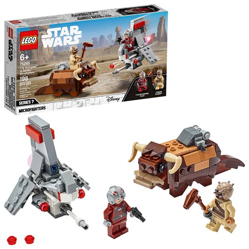 LEGO 75265 Star Wars T-16 Skyhopper vs Bantha Microfighters