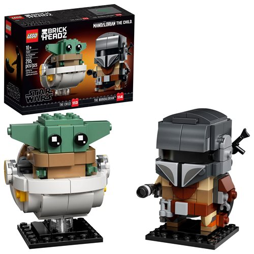 LEGO 75317 Star Wars The Mandalorian & The Child BrickHeadz