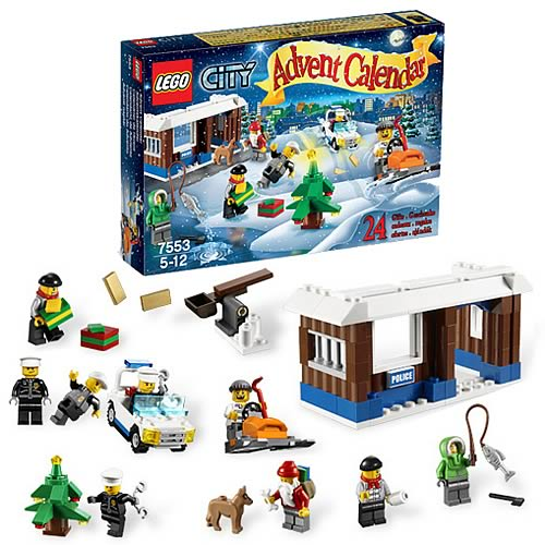 LEGO City 7553 Advent Calendar Case