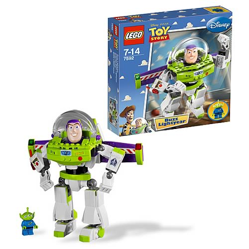 LEGO Toy Story 7592 Construct A Buzz