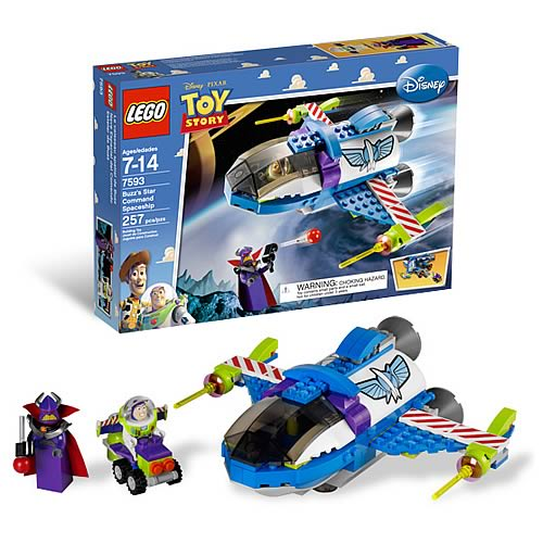 Lego toy story 7593 buzz 39 s star command spaceship lego - Lego toys story ...