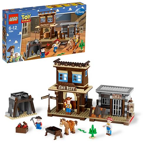 LEGO Toy Story 7594 Woody's Round-Up Playset