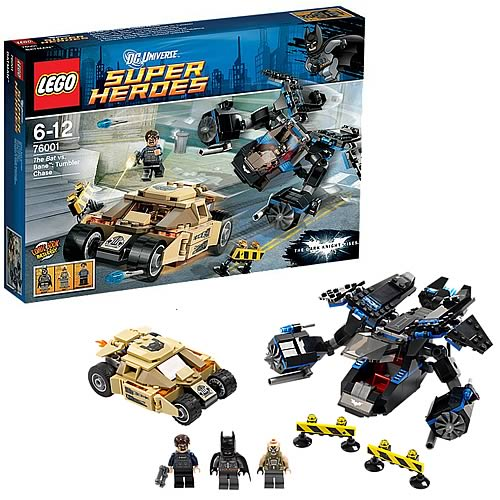 LEGO DC Universe 76001 The Bat vs. Bane: Tumbler Chase
