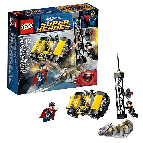 LEGO Superman Man of Steel 76002 Metropolis Showdown