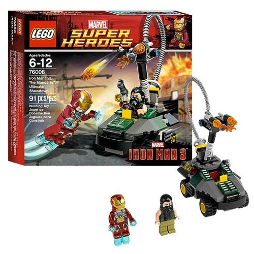 LEGO Iron Man 3 76008 vs. The Mandarin Ultimate Showdown