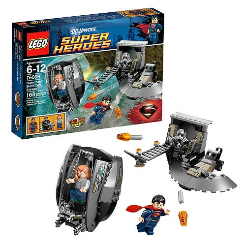 LEGO Superman Man of Steel 76009 Black Zero Escape