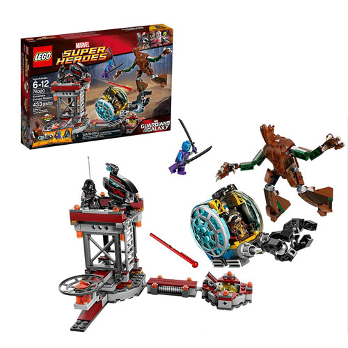 LEGO Marvel Guardians of the Galaxy 76020 Knowhere Escape
