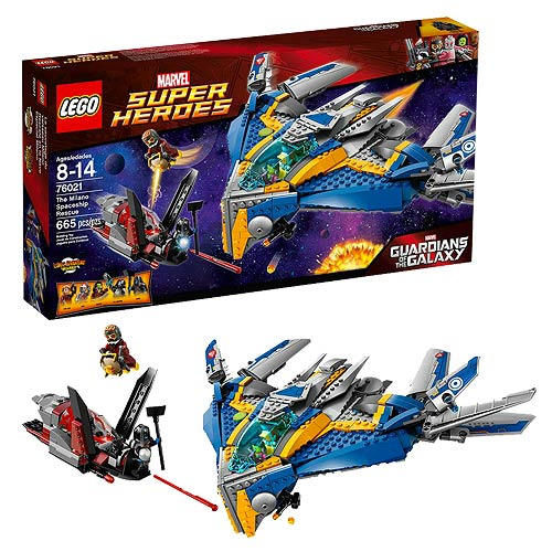 LEGO Marvel Guardians of the Galaxy 76021 Milano Spaceship