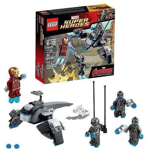 LEGO Iron Man 76029 Marvel Avengers Iron Man vs Ultron