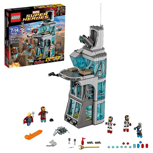 LEGO Marvel Avengers 76038 Attack on Avengers Tower