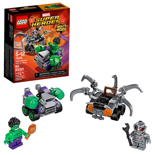 LEGO Hulk 76066 Hulk vs. Ultron Mighty Micros