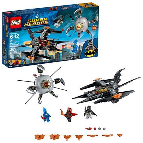 LEGO DC Comics 76111 Batman Brother Eye Takedown