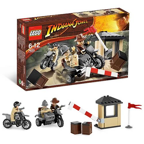 LEGO 7620 Indiana Jones Motorcycle Chase