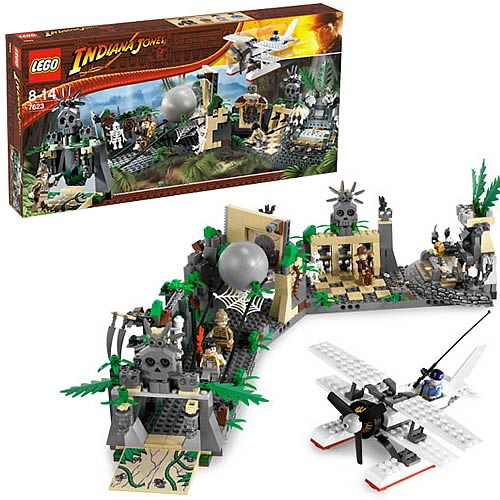 LEGO 7623 Indiana Jones Temple Escape