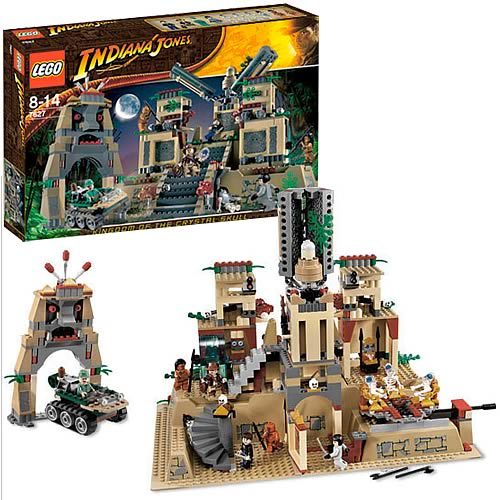 LEGO 7627 Indiana Jones Temple of the Crystal Skull