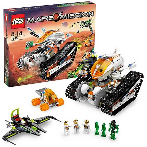 LEGO 7645 Mars Mission MT-61 Crystal Reaper