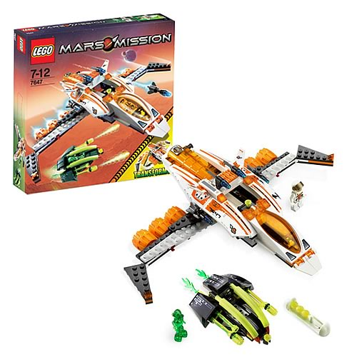 LEGO 7647 Mars Mission MX-41 Switch Fighter