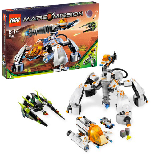 LEGO 7649 Space MT-201 Ultra-Drill Walker