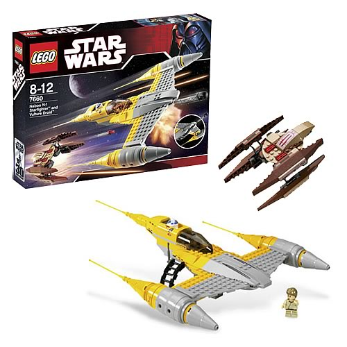 LEGO 7660 Star Wars Naboo N-1 Starfighter with Vulture Droid
