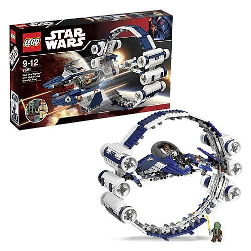 LEGO 7661 Star Wars Jedi Starfighter with Hyperdrive Ring