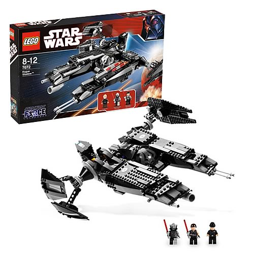 LEGO 7672 Star Wars Force Unleashed Rogue Shadow Vehicle