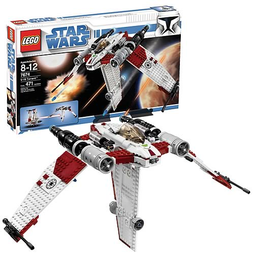 LEGO 7674 Star Wars V-19 Torrent Starfighter