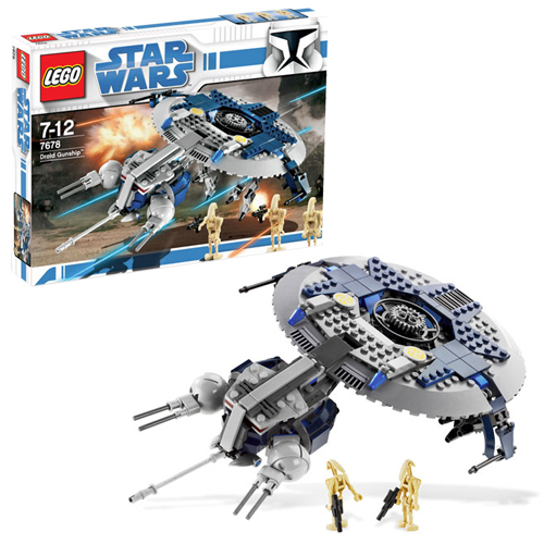 LEGO 7678 Star Wars Droid Gunship