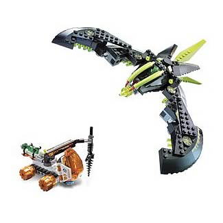 LEGO 7693 Mars Mission MTX Alien Strike