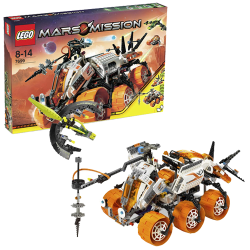 LEGO 7699 Mars Mission MT-101 Armored Drilling Unit