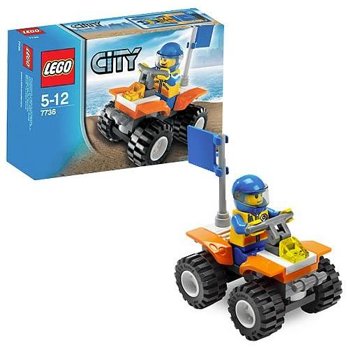 LEGO 7736 City Coast Guard Quad Bike