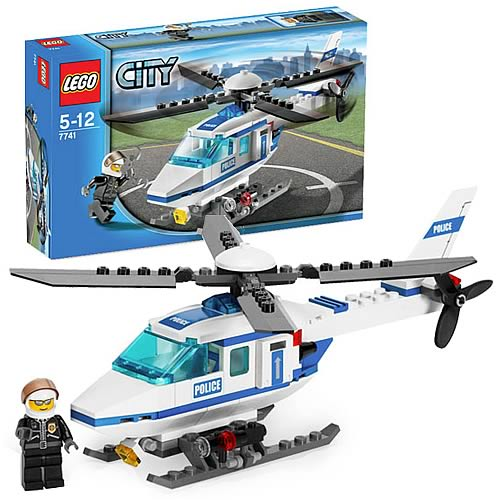 LEGO 7741 City Police Helicopter
