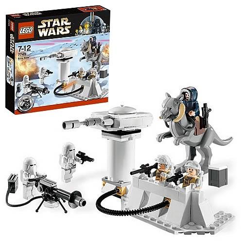 Lego 7749 Star Wars Hoth Echo Base Lego Star Wars
