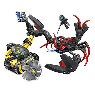 LEGO 7772 Aqua Raiders Lobster Strike