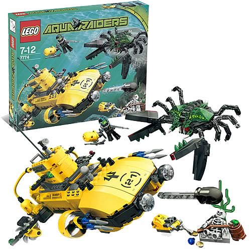 LEGO 7774 Aqua Raiders Crab Crusher
