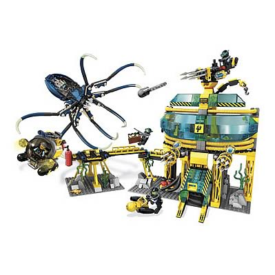 LEGO 7775 Aqua Raiders Aquabase Invasion