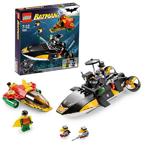 LEGO 7885 Batman Robin's Scuba Jet: Attack of the Penguin